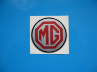 MG wheel centre stickers MG A B C ZT ZA TF TD Magnette x4